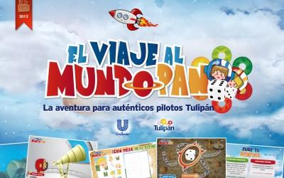 Unilever / Tulipán / Viaje al mundo pan / Advergaming / Creatividad y desarrollo Flash - Actionscript // Bestpack Bronce 2012