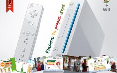Unilever / Knorr / Elabora tu propia sopa / Advergaming + Wii /  Creatividad y desarrollo Flash - Actionscript // Aspid Oro 2009
