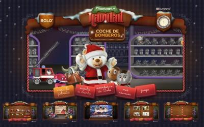 Liverpool MX / BOLO / Site Emociones de Navidad / Site - Advergaming / Project Manager