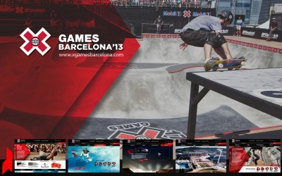 X Games / X Games Barcelona / Website Oficial BCN 2013 / Site / Project Manager