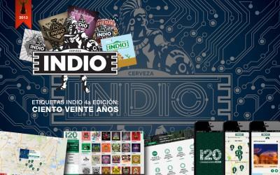 Cerveza INDIO / Site 120 años 2013 / Site , iOS App & Android / Project Manager // Grand Prix Digital Círculo Creativo México